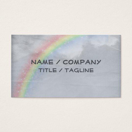 Rainbow Skies Business Card