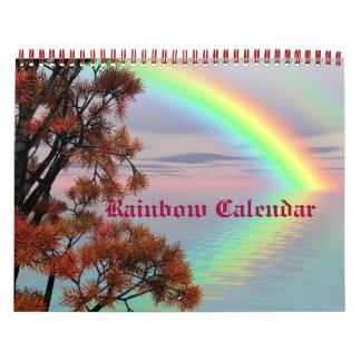 Rainbow Skies Nature Destiny Custom Calendar