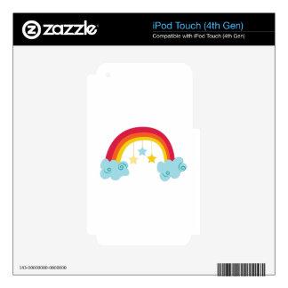 Rainbow iPod Touch 4G Skin