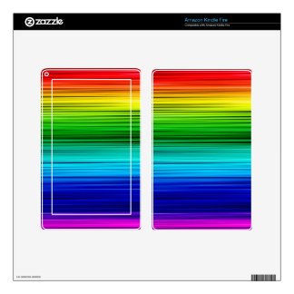 Rainbow Skin For Kindle Fire