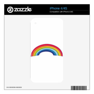 rainbow skins for iPhone 4S