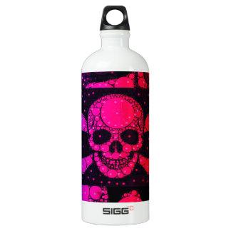 Rainbow Skull Bling SIGG Traveler 1.0L Water Bottle
