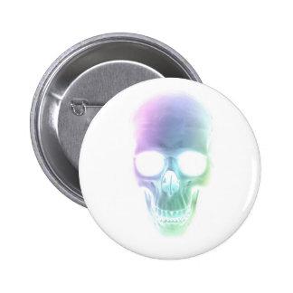 Rainbow Skull - Custom Background Button