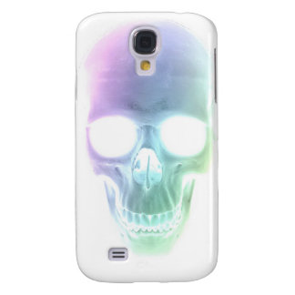 Rainbow Skull - Custom Background Galaxy S4 Case