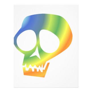 Rainbow Skull! Full Color Flyer