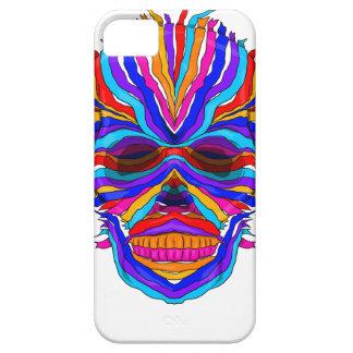 Rainbow Skull Ribbon iPhone SE/5/5s Case