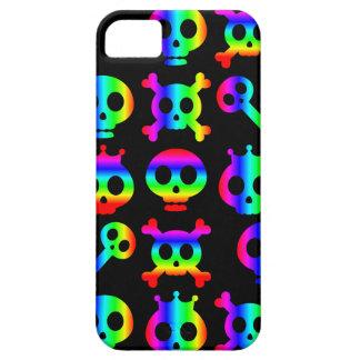 Rainbow Skull Riot Too iphone 5 case