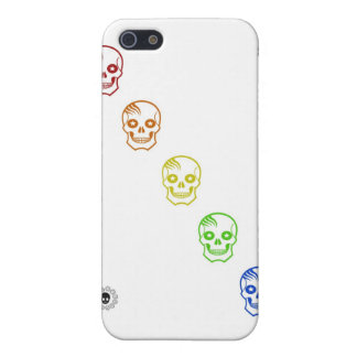 Rainbow Skulls Cover For iPhone SE/5/5s