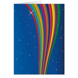 rainbow sky.ai greeting card
