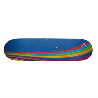 rainbow sky.ai skateboard deck