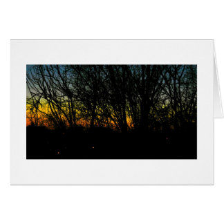 Rainbow Sky Over Pittsburgh Stationery Note Card
