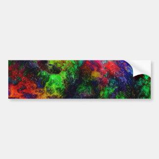 Rainbow Slime Bumper Sticker