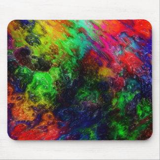 Rainbow Slime Mouse Pad