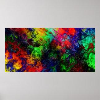 Rainbow Slime Posters