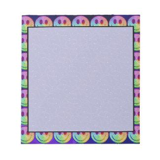 Rainbow Smiley Memo Notepad