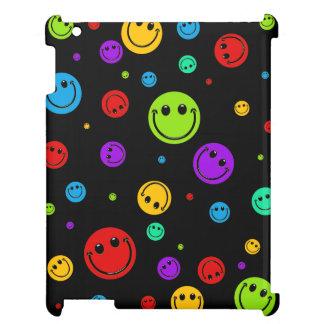Rainbow Smiley Polka Dots iPad Mini Cover