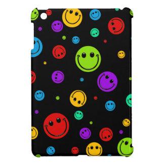 Rainbow Smiley Polka Dots iPad Mini Covers