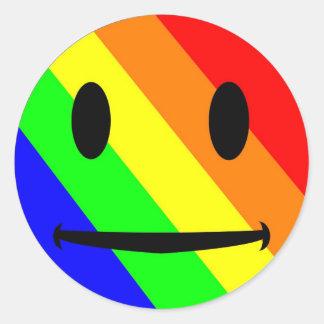 Rainbow Smiley Sticker