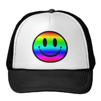 Rainbow Smiley V1 Cap