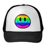 Rainbow Smiley V1 Trucker Hat