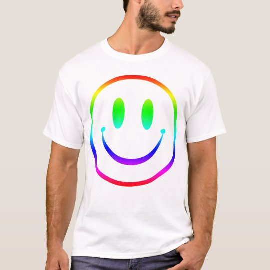 Rainbow Smiley V2 T-Shirt