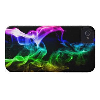 Rainbow Smoke iPhone 4 Covers