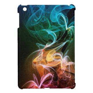 rainbow smoke iPad mini case