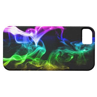 Rainbow Smoke iPhone 5 Cases