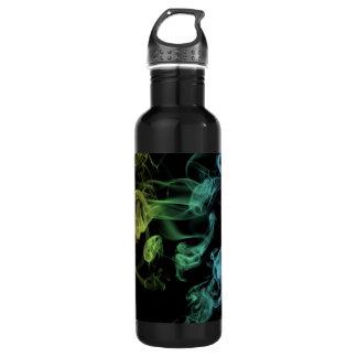 Rainbow Smoke 24oz Water Bottle