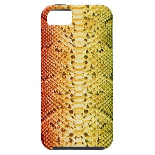 Rainbow Snakeskin iPhone 5 Covers