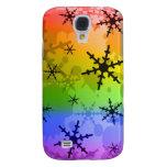 Rainbow Snowflake HTC Vivid / Raider 4G Case