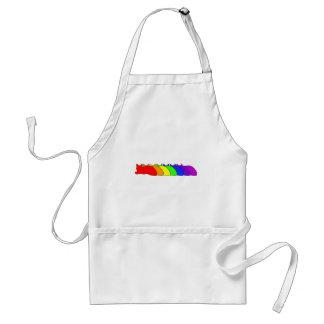 Rainbow Somali Adult Apron