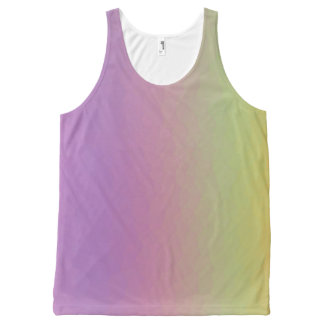 Rainbow Sorbet All-Over-Print Tank Top