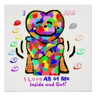 """Rainbow Soul"" Poster"