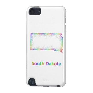 Rainbow South Dakota map iPod Touch 5G Cover