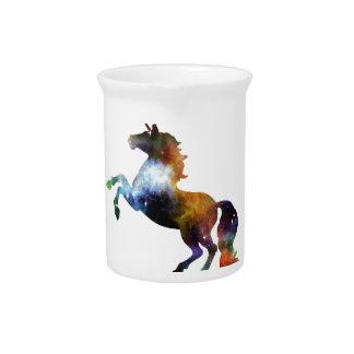 Rainbow Space Unicorn Pitcher