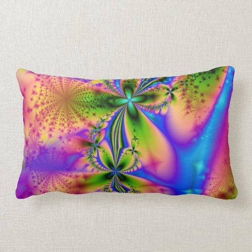 Rainbow Sparkles American MoJo Pillow