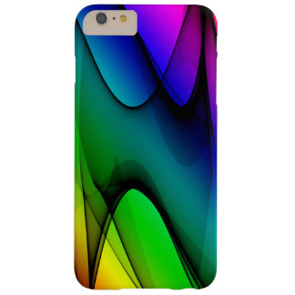 Rainbow Spectrum Abstract Barely There iPhone 6 Plus Case