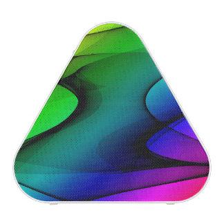 Rainbow Spectrum Abstract Bluetooth Speaker