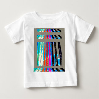 Rainbow Spectrum Color Band Waterfall Baby T-Shirt