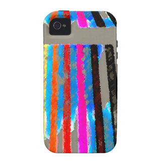 Rainbow Spectrum Color Band Waterfall Case For The iPhone 4