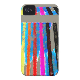 Rainbow Spectrum Color Band Waterfall iPhone 4 Case-Mate Cases