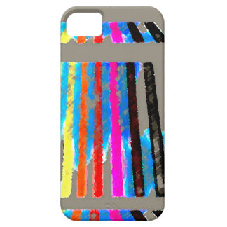 Rainbow Spectrum Color Band Waterfall iPhone 5 Cases