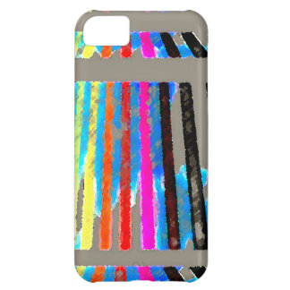 Rainbow Spectrum Color Band Waterfall iPhone 5C Case