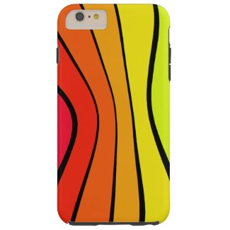 Rainbow Spectrum Color Trendy Pop Art CricketDiane Tough iPhone 6 Plus Case