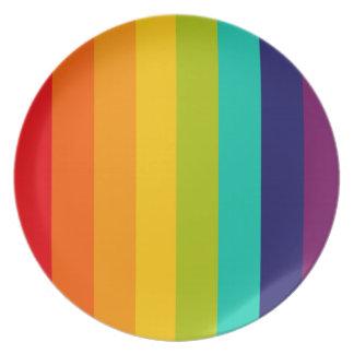 Rainbow Spectrum Plate