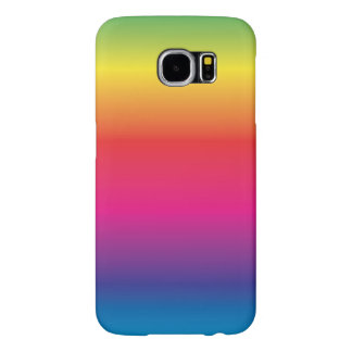 Rainbow Spectrum Prism Image Template Samsung Galaxy S6 Case