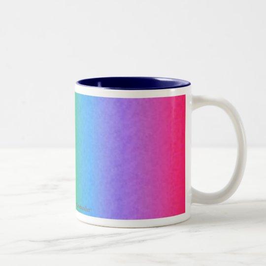 Rainbow Spectrum Two-Tone Coffee Mug