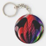 Rainbow Sphere Keychains