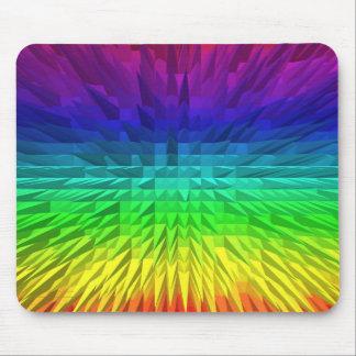 Rainbow Spikes Mousemat